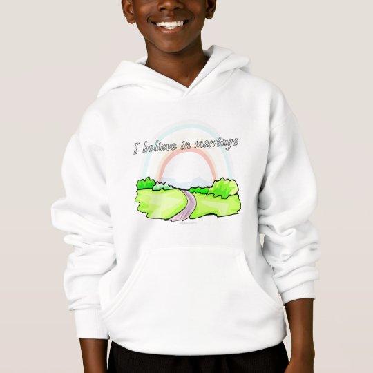 I believe in marriage hoodie