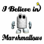 i believe in marshmallows acrylic cut out