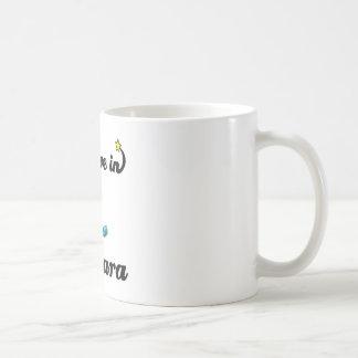i believe in mascara coffee mug