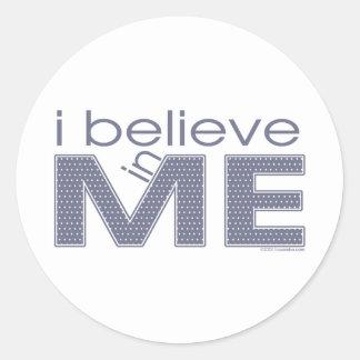 I believe in Me Stickers