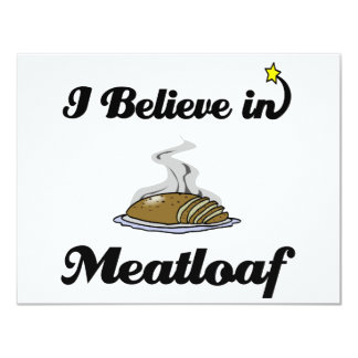i believe in meatloaf card