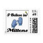 i believe in mittens stamp