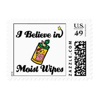 i believe in moist wipes postage