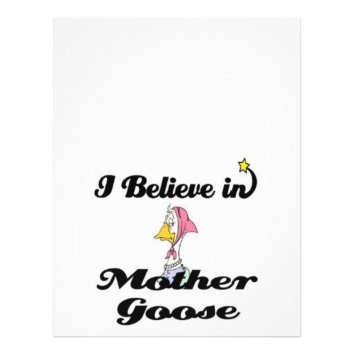 i believe in mother goose full color flyer