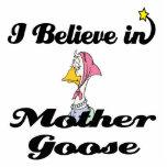 i believe in mother goose photo sculpture