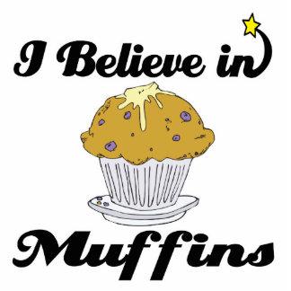 i believe in muffins photo sculpture