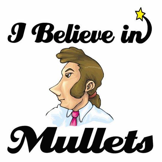 i believe in mullets cutout