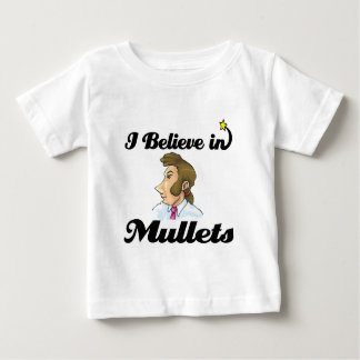 i believe in mullets t shirt