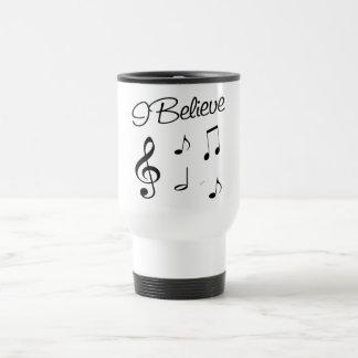 I believe in Music Mugs