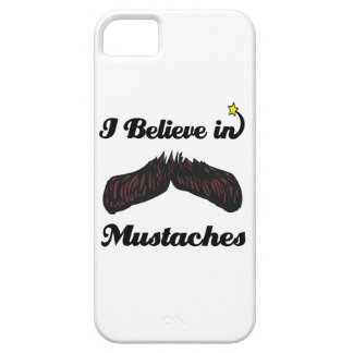 i believe in mustaches iPhone 5 cover