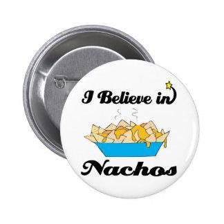 i believe in nachos 2 inch round button