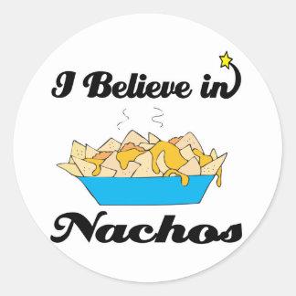 i believe in nachos stickers