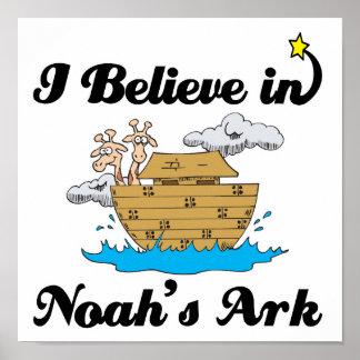 i believe in noahs ark print