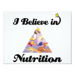 i believe in nutrition personalized announcements