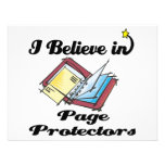 i believe in page protectors announcements