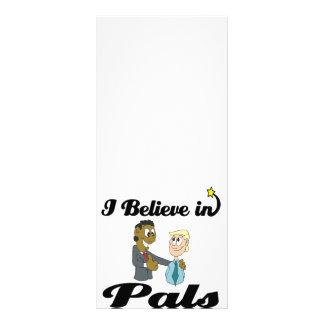 i believe in pals rack card design