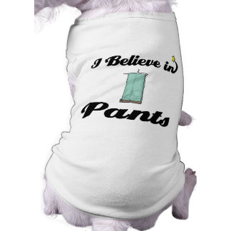 i believe in pants shirt