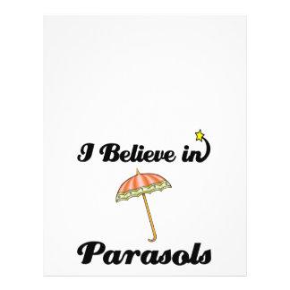 "i believe in parasols 8.5"" x 11"" flyer"