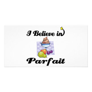 i believe in parfait photo cards