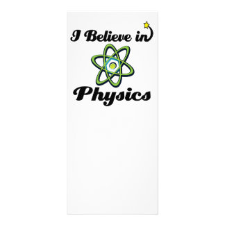 i believe in physics rack cards