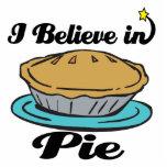 i believe in pie photo cutout