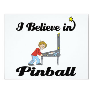 i believe in pinball card