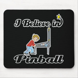 i believe in pinball mouse pad