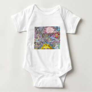 I Believe in PInk Baby Bodysuit