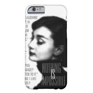 """I BELIEVE IN PINK, BLACK AND WHITE "" BARELY THERE iPhone 6 CASE"