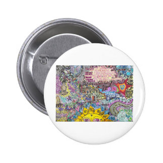 I Believe in PInk Pinback Button