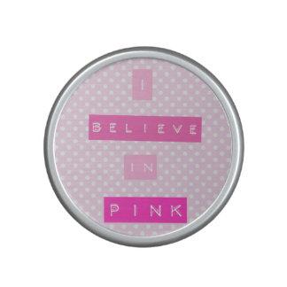 I believe in Pink Speaker