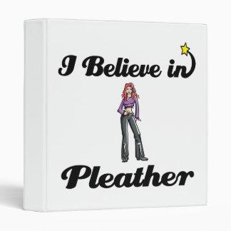 i believe in pleather binder