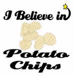i believe in potato chips photo cutout