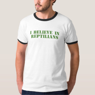 I Believe in Reptilians T-Shirt