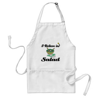 i believe in salad aprons