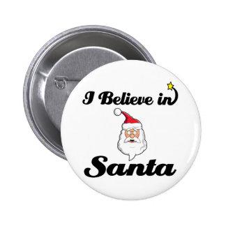 i believe in santa 2 inch round button