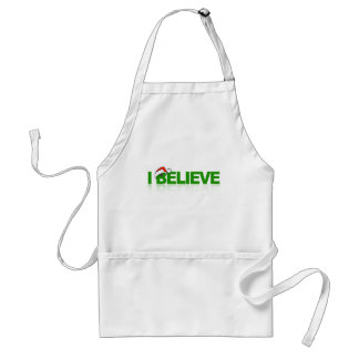 I Believe in Santa Adult Apron