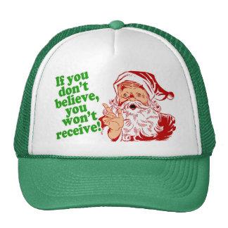 I Believe in Santa Claus Trucker Hat