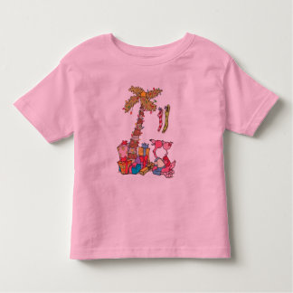 """I believe in santa claus"" toddler t-shirt"