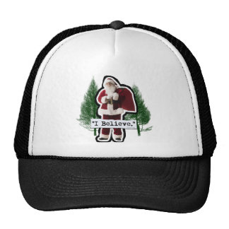 I Believe in Santa Trucker Hat