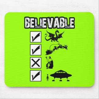 I believe in Santa Mouse Pad