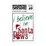 I Believe in Santa Paws Postage