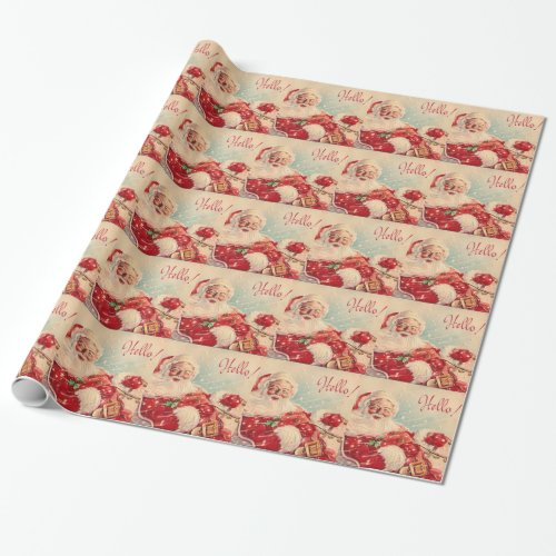 I BELIEVE IN SANTA WRAPPING PAPER