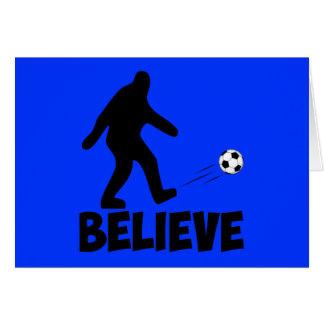 I believe in Sasquatch Card