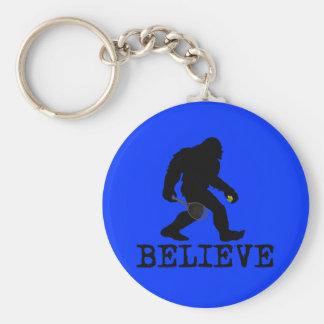 I believe in Sasquatch Keychain
