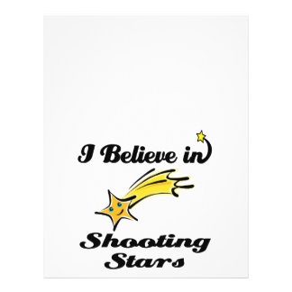 i believe in shooting stars flyer