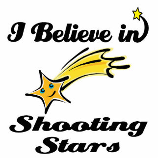 i believe in shooting stars acrylic cut out