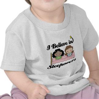 i believe in sleepovers tshirt