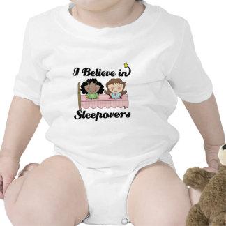 i believe in sleepovers tshirts