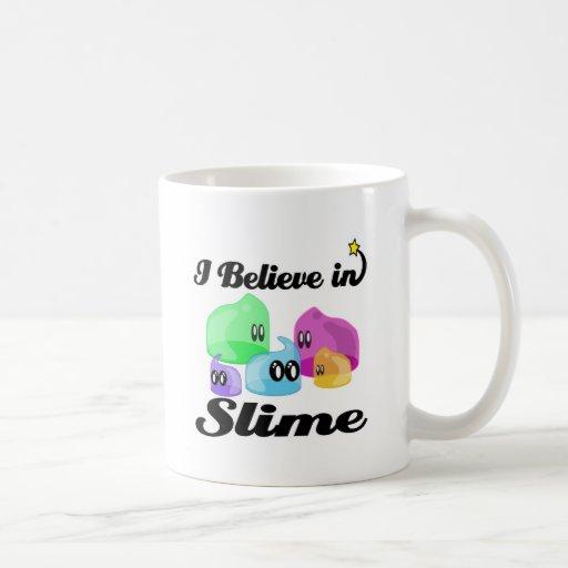i believe in slime mug